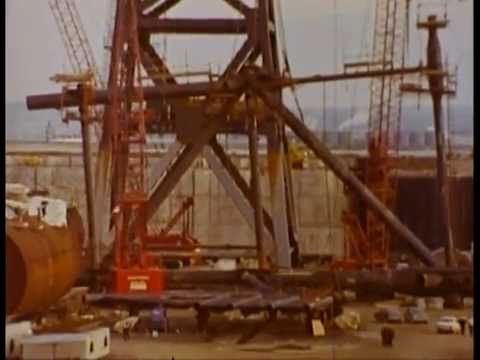 Built to Sink (1974) Laing Offshore Film  Graythorp 1 construction