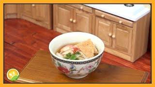 Làm món mì Udon tí hon - Noodles Udon
