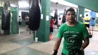 Clases de boxeo jhon pictor blanco