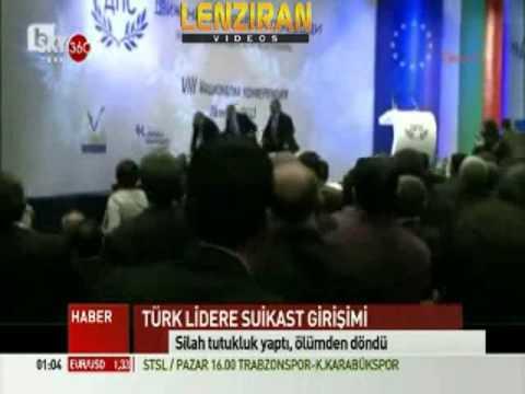 Live scene of Gunman Aims Gun At Bulgarian Politician's Head !