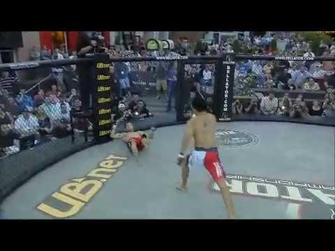 Bellator MMA Highlight: Jose Vega KOs Jarrod Card