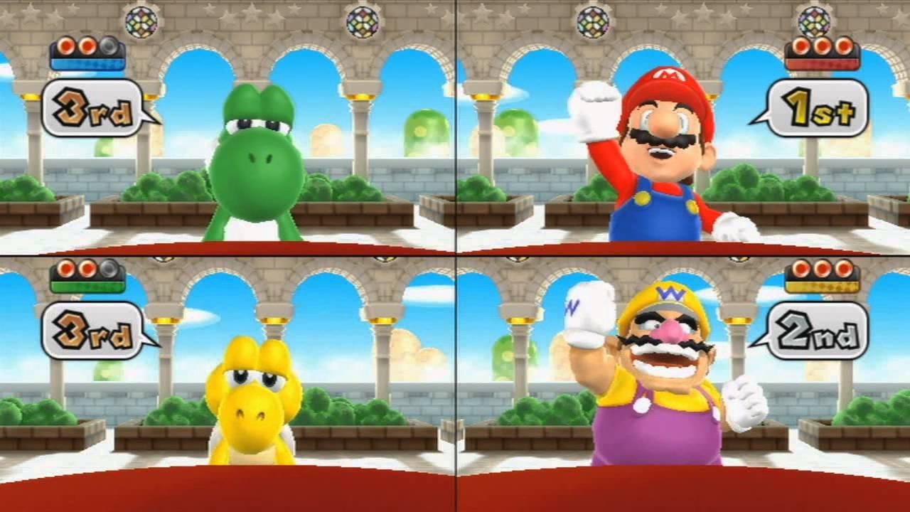 super mario bros mini game part 2