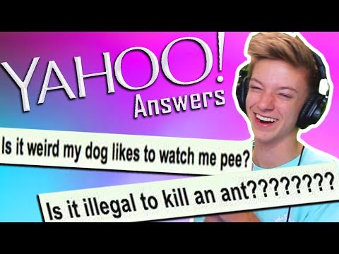 ASKING STRANGERS DUMB YAHOO ANSWER QUESTIONS 3