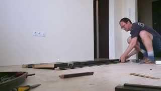 видео Как собрать межкомнатную дверь?