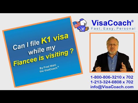 Filing K-1 Fiance Visa application while Fiancee is in USA K1 Faq 38