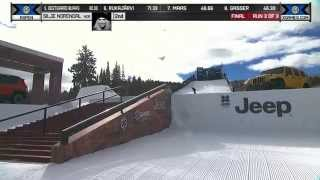 Silje Norendal wins gold in Women's Snowboard Slopestyle - Winter X Games