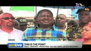 Likoni ferry tragedy: Raila Odinga visits channel, issues an order || AM Live