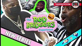 "COACH BETS REF IN-GAME?! 😳💰 + Julius Hodge BAG TALK!! 😂 ""The Rod Bridgers Experience"" - episode 1 🍔"