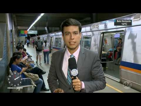 Metrô de Brasília faz experimento para testar honestidade de passageiros - SBT Notícias (08/08/17)