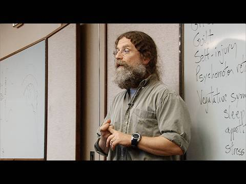 Stanford's Sapolsky on depression and its origin (video clip)