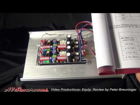 Wyetech Labs Ruby P1 Phono Stage, pt.2 of 4, Gain and Loading Settings