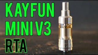 The Kayfun Mini V3 ~ Mouth to lung champion