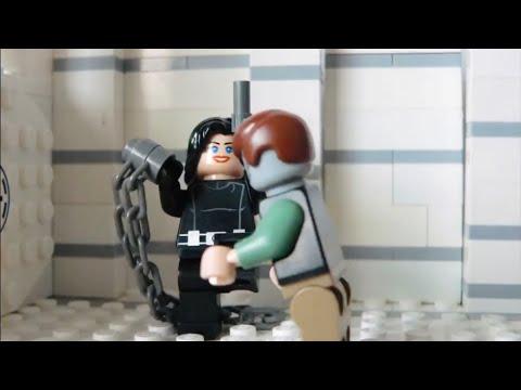 (LEGO) Resident Evil Retribution Fight (Alice + Zombies)