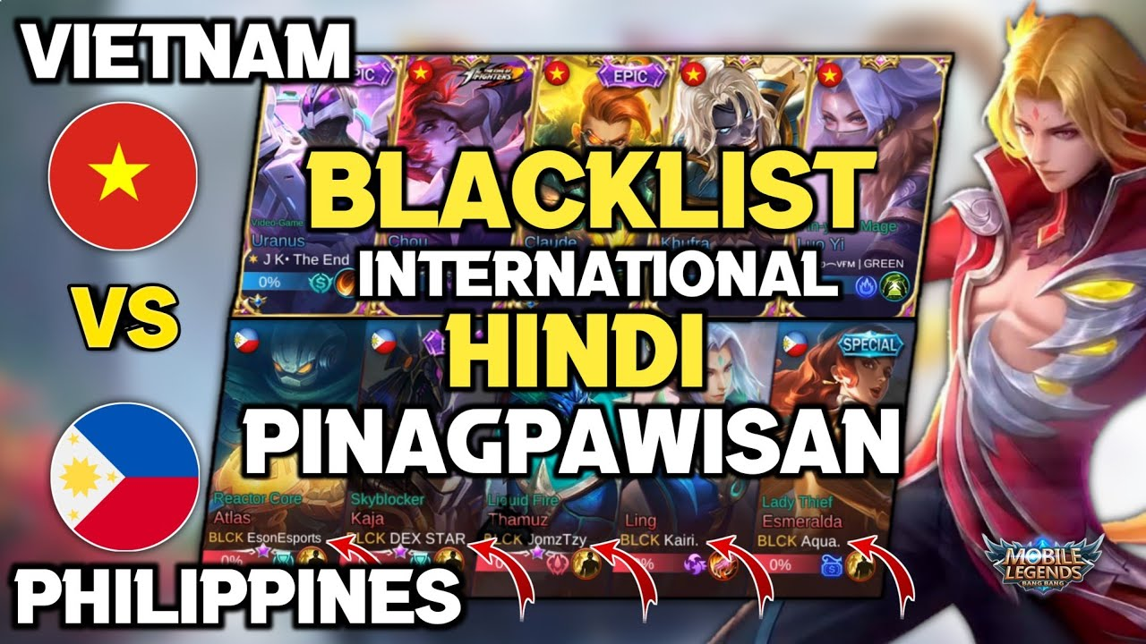 Blacklist Dominates in National Arena Contest With New Member - Mobile Legends