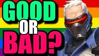 My Main Issue With Soldier 76 Being Gay