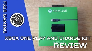 Xbox One Play and Charge Kit- Review