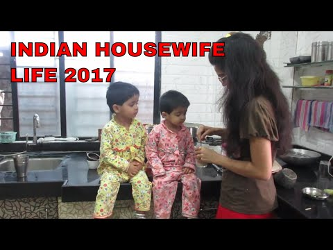 INDIAN HOUSEWIFE/MOM  LIFE2017||INDIANTWINS MUMMY VLOG
