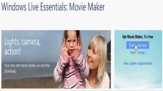 How to Install Windows Live Movie Maker in Windows 7