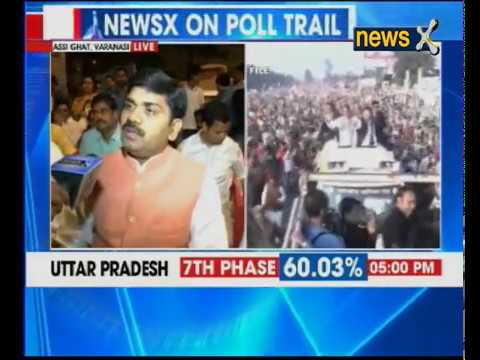 NewsX live from Assi Ghat in Varanasi; final phase of polling in Uttar Pradesh | Part 2