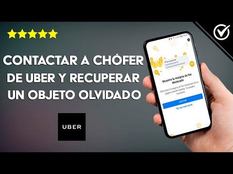 Cómo Contactar con un Chófer de Uber para Recuperar un Objeto Perdido u Olvidado