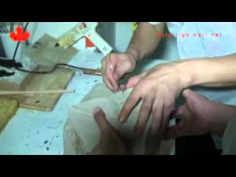 How to make  a silicone rubber mold in a brushing way