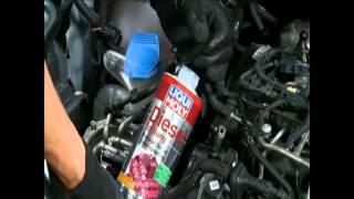 Промывка систем питания дизельных двигателей Liqui Moly