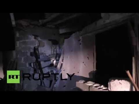 Ukraine: Fire rages