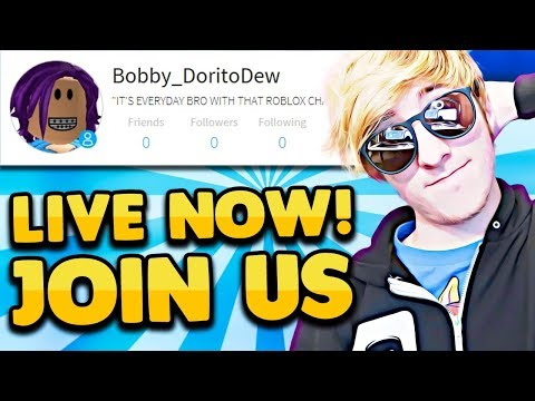 ROBLOX STARTING OVER!! *NEW ACCOUNT* | Roblox LIVE 🔴 Roblox Jailbreak and MeepCity Update