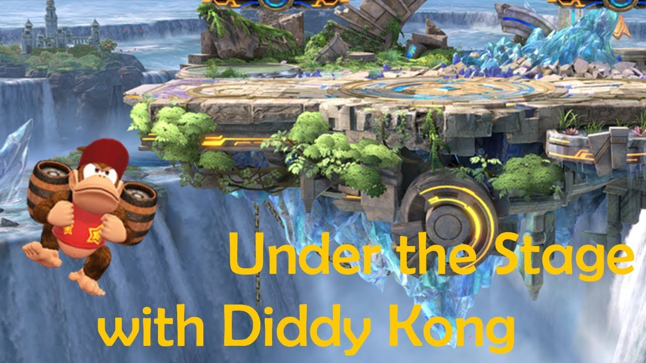 Under the Stage with Diddy Kong