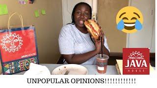 UNPOPULAR OPINIONS// JAVA MUKBANG