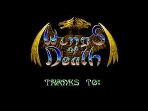 Wings of Death Introduction screen - Atari ST