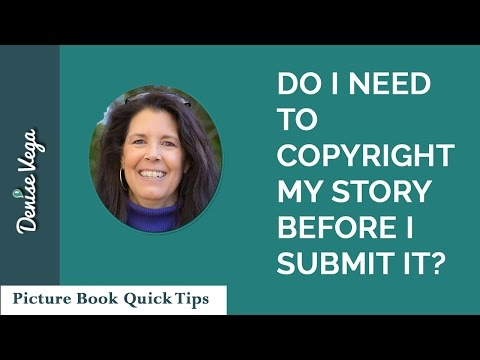 Do I need to copyright my picture book?