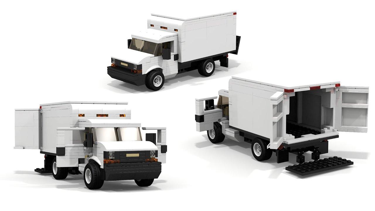 LEGO Chevrolet Express Cargo Truck Instructions - YouTubeLego City Truck Instructions