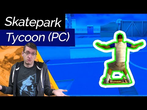 Build and Skate Your Own Parks! Skateboard Park Tycoon (2001)