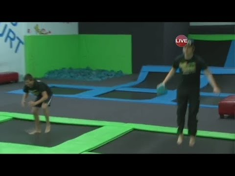 Workout with Cool Springs trampoline park