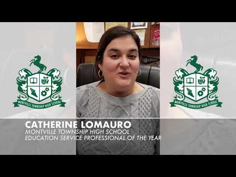 Catherine Lomauro Montville Township High School Education Service Professional of the Year