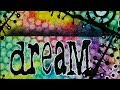 Mixed Media 6 x 6 Challenge - Bright Colours - #ArtfulEvidence