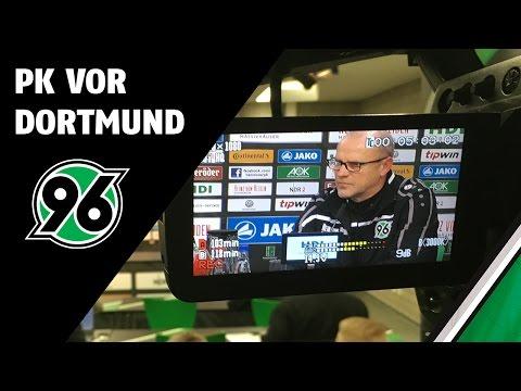 PK vor Dortmund   Borussia Dortmund - Hannover 96