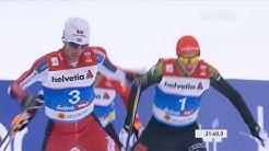 Nordische Kombination 10km Langlauf letzte Runde Goldlauf Eric Frenzel