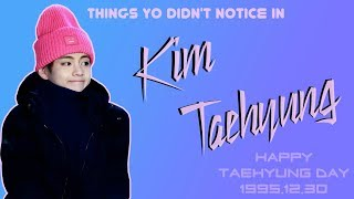 Things You Didn't Notice In ... Kim TAEHYUNG | Try Not to Fangirl Challenge | #HappyTaehyungDay