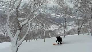 2009 2 27 ニセコ雷電山 三国内岳(969ピーク)