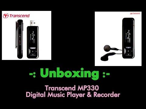Transcend MP330 Digital Music Player & Recorder