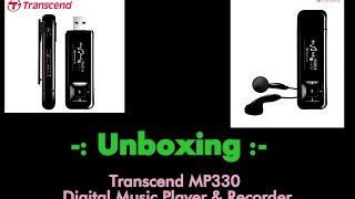 Download Transcend MP330 Digital Music Player & Recorder