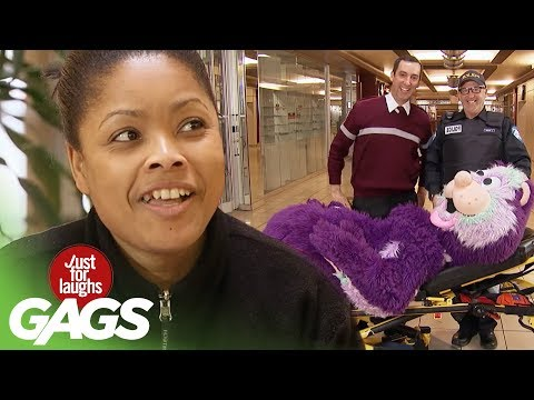 Mascot Needs Help Prank! - Just For Laughs Gags