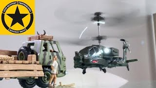 Toys for Christmas: RC HELICOPTER Review Apache AH 64 RC Syma S109G with Gyro