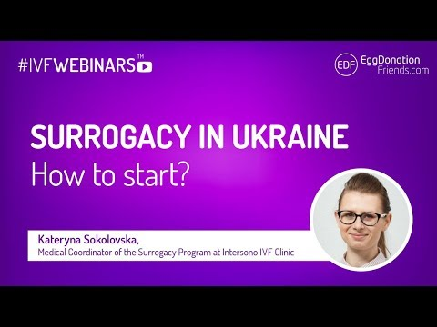 Surrogacy in Ukraine at Intersono IVF Clinic #IVFWEBINARS