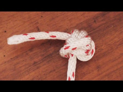 How To Tie The Stopper Knot Doovi