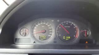 Volvo XC90 V8 accelerate to 100 km h