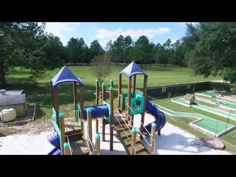 Aerial Video - Milton / Gulf Pines KOA