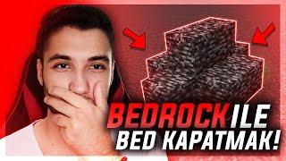 CRAFTRİSE BEDROCK İLE YATAK KAPATTIM !! - minecraft craftrise bedwars